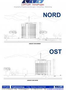 Nord und Ost Ansicht 4*-Tower-Park-Hotel